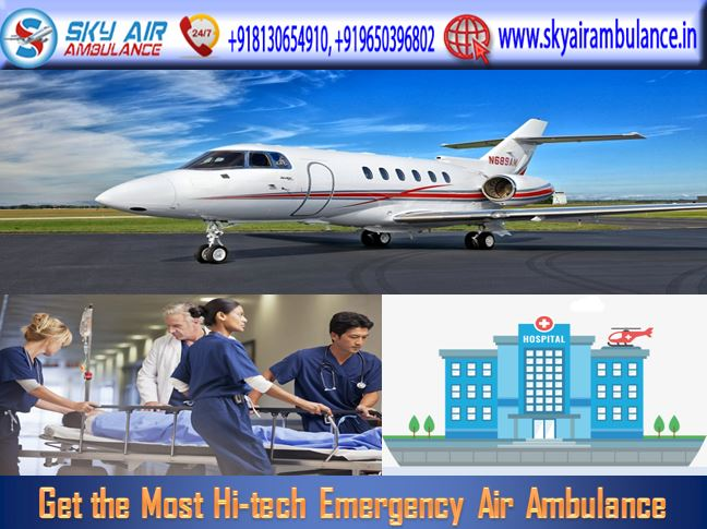 Sky Air Ambulance in Delhi.JPG